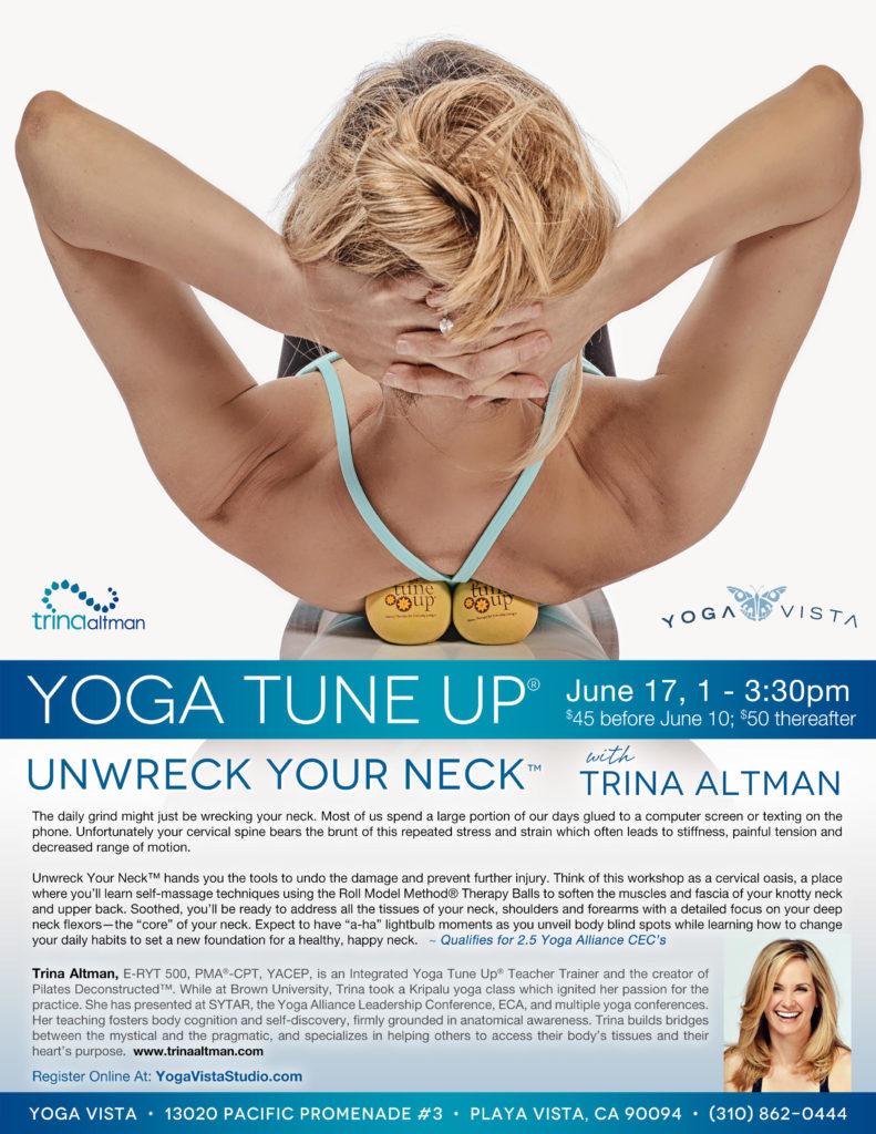 Yoga Tune Up Unwreck Your Neck