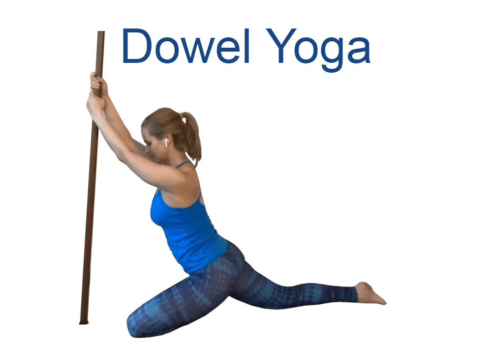 """Want novel ways to improve muscle activation and joint stability for yourself and your students? <a class=""""button"""" href=""""https://trinaaltman.com/dowel-yoga/"""">LEARN MORE</a>"""